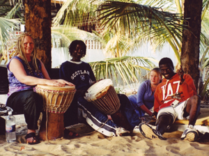 Gambian Beach Drumming