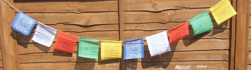 Nepalese Buddhist Prayer Flags - Small Size