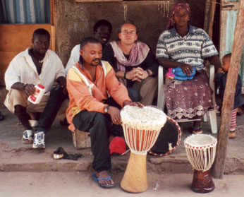 Fair Trade Gambian Djembe Drums